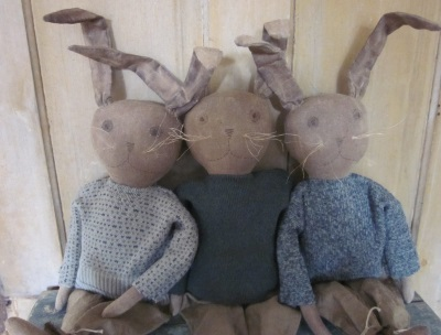 Primitive Easter Bunnies